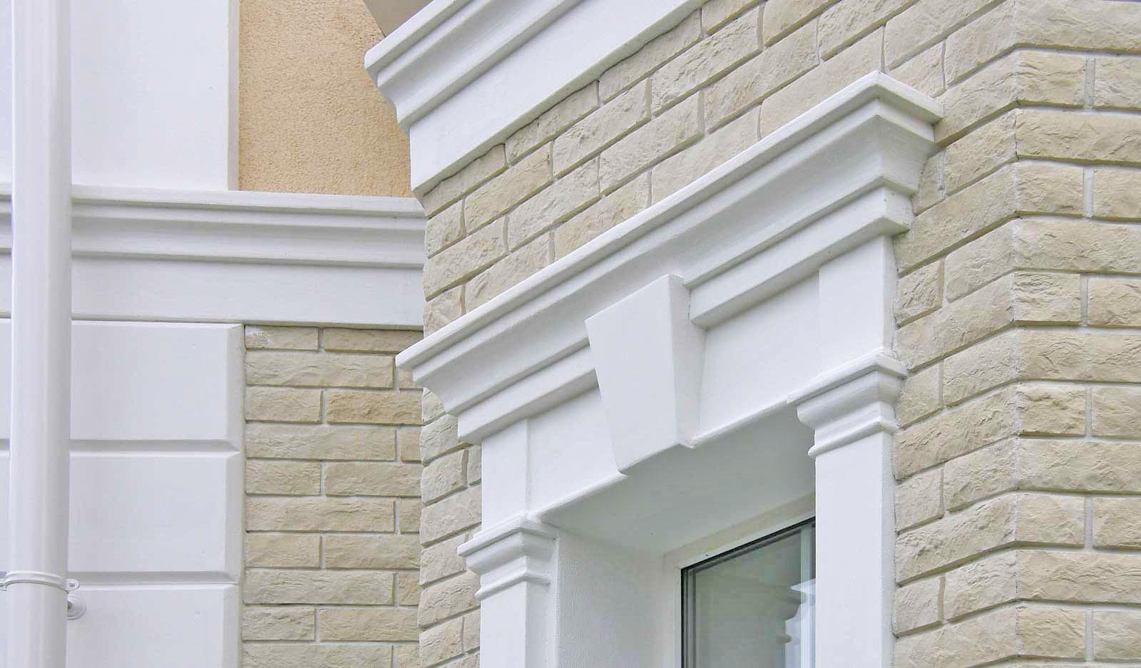 декоративный пенопласт для фасада
